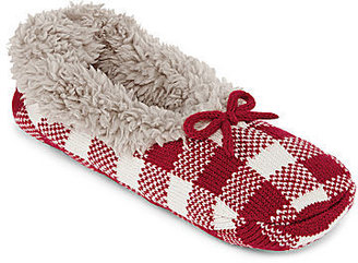 JCPenney Asstd National Brand Plush Slipper Socks