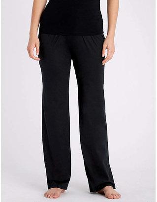 Hanro Deluxe cotton-jersey pyjama bottoms