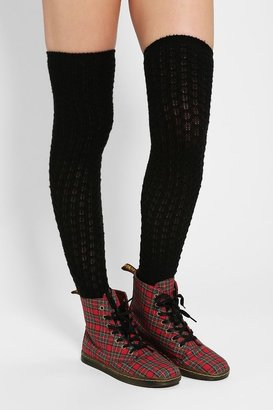 Urban Outfitters Honeycomb Over-The-Knee Sock