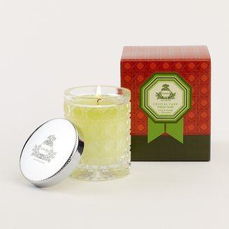 Agraria Lime & Orange Blossoms Petite Crystal Cane Candle