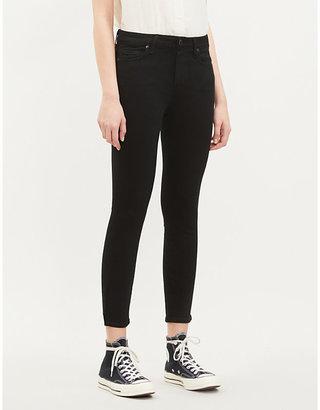 Paige Denim Women's Black Shadow Verdugo Ultra Skinny Jeans, Size: 23