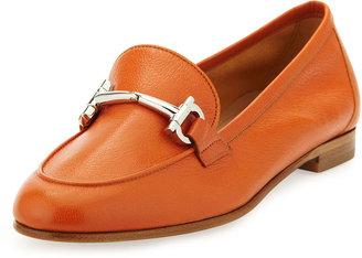 Salvatore Ferragamo My Informal Leather Loafer, Calendula Orange