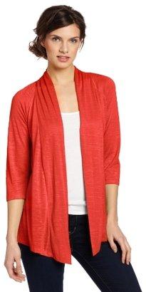 Amy Byer Women's Raglan Sleeves Jersey Slub