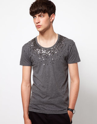 Unconditional Hand Beaded T-Shirt