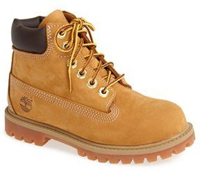 Toddler Timberland '6 Inch Premium' Waterproof Boot $84.95 thestylecure.com