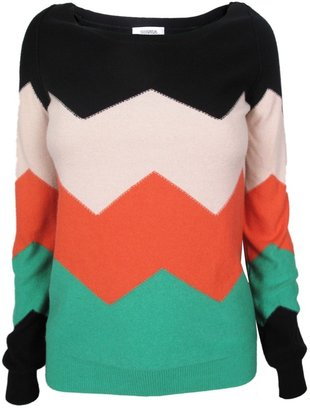 Sonia Rykiel Sonia by Zig Zag Sweater