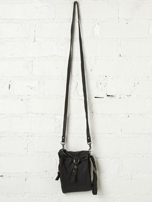 Free People Convertible Leather Wallet