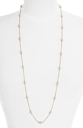 Majorica 8mm Long Illusion Pearl Necklace