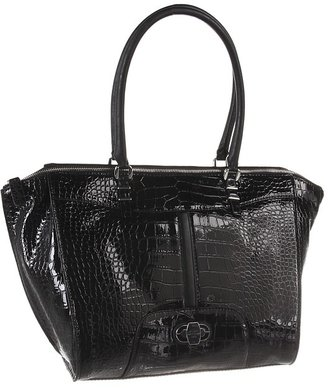 GUESS Perlita Carryall (Black) - Bags and Luggage