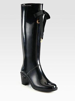 Marc by Marc Jacobs Bow Knee-High Rainboots