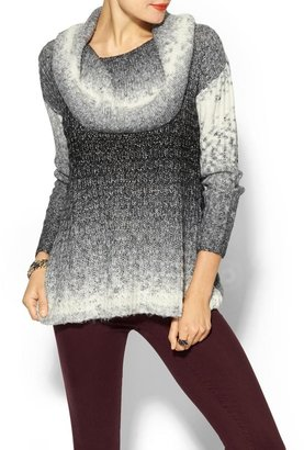 Sabine Ombre Cowl Pullover Sweater
