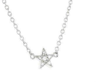 Jennifer Meyer Diamond Mini Star Bracelet - White Gold