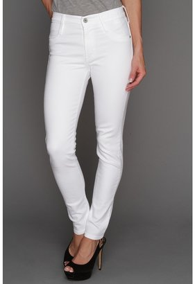 James Jeans High Class Skinny in Frost White (Frost White) - Apparel