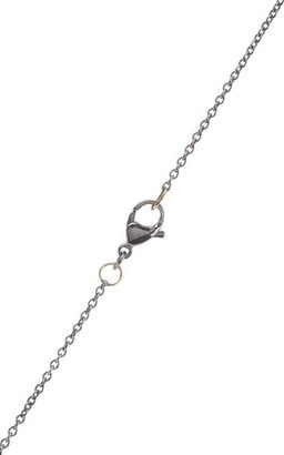 Ileana Makri Women's Big Snake Pendant Necklace-Colorless