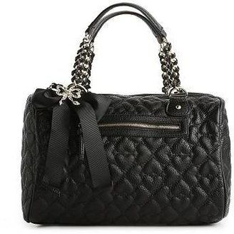 Betsey Johnson Quilted Love Satchel