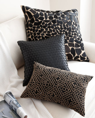 Horchow Black & Brown Accent Pillows