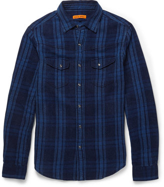 Alex Mill Check Woven-Cotton Shirt