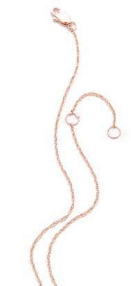 Jennifer Zeuner Jewelry Adored Necklace with Diamond