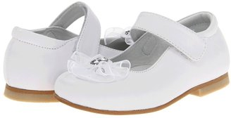 Kid Express Carmen (Toddler/Little Kid) (White Leather) - Footwear