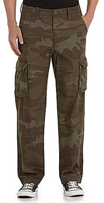 Roundtree & Yorke Washed Cargo Pants