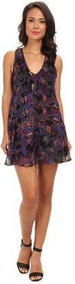 Angie Racerback Print Dress