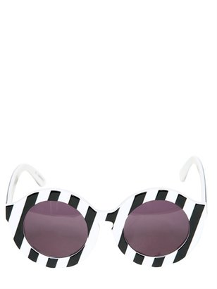 House of Holland Peggy Rounded Acetate Sunglasses