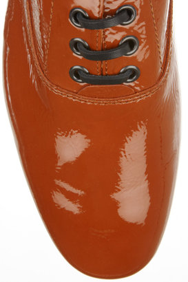 Tod's No_Code Patent-leather brogues