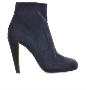 Fendi Peggy suede ankle boots