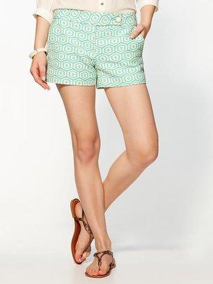 Trina Turk 'Corbin' Jacquard Shorts
