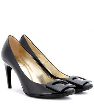 Roger Vivier Belle de Nuit patent leather pumps