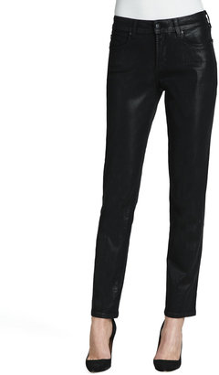 NYDJ Sheri Coated Skinny Jeans, Color Washes