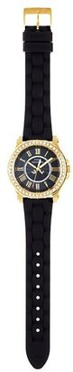 Juicy Couture Pedigree Gold and Black Jelly Watch