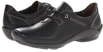 Wolky Rosa (Black Greased) Women's Shoes
