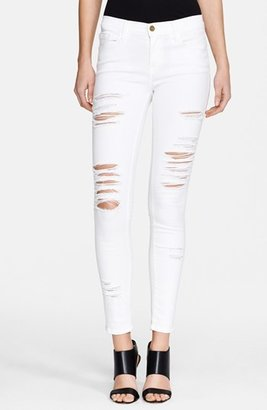 Women's Frame Le Color Rip Skinny Jeans $199 thestylecure.com