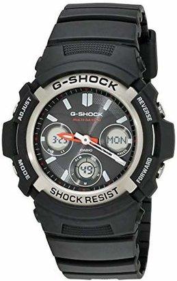 Casio Men's G-Shock AWG-M100-1ACR Tough Solar Atomic Resin Sport Watch