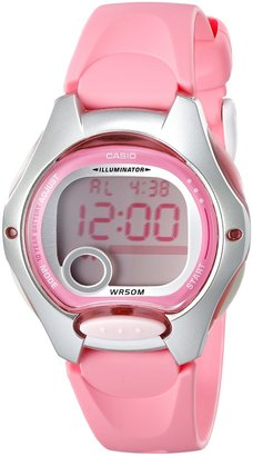 Casio Women's LW200-4BV Pink Resin Digital Watch
