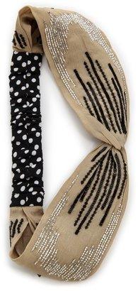 Namrata Joshipura Sequin Embellished Turban Headband