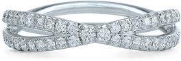 Kwiat 'Fidelity' Diamond Crossover Ring