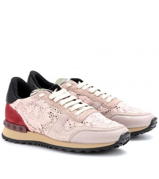 Valentino Rockstud sneakers with lace
