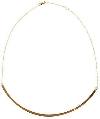 Jennifer Zeuner Jewelry Samara Choker Necklace in Gold