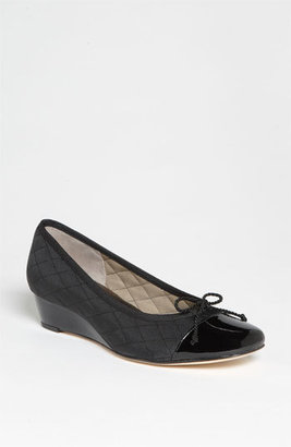 French Sole 'Deluxe' Wedge Pump