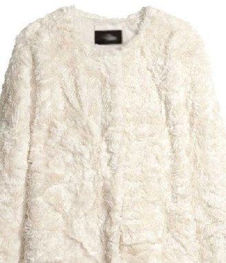 ChicNova Satin Lining Faux Fur Coat