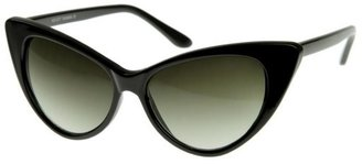 Cat Eye zerouv Hot Tip Pointed Vintage Sunglasses
