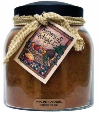 A Cheerful Giver Praline Caramel Sticky Buns Papa Jar Candle