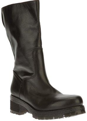 JFK mid calf length boot