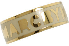 Marc by Marc Jacobs Classic Marc Dreamy Logo Ring Ring