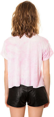 Reverse The Party Tee in Pink