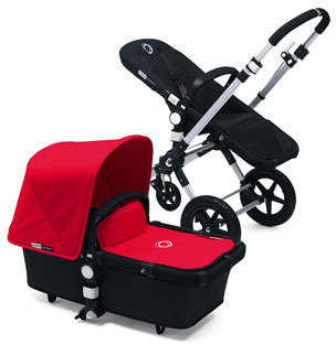 Bugaboo Cameleon3 Tailored Fabric Set, Red