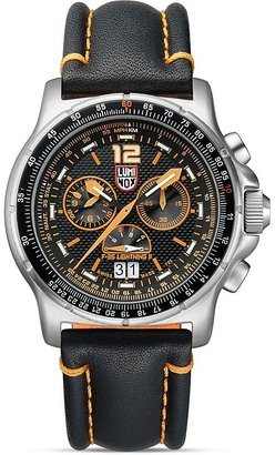 Luminox F-35 Lightning IITM 9388 Watch, 45mm $1,000 thestylecure.com