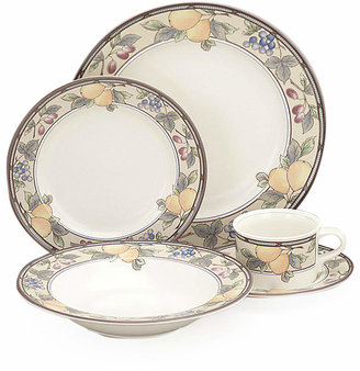 "Mikasa Garden Harvest"" 5-Piece Place Setting with Soup Bowl"